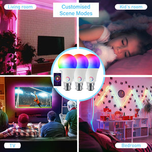 Prism Smart Bulb - Bluetooth Three Pack