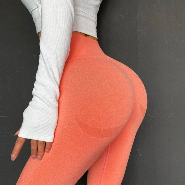 New vital seamless leggings for women workout gym legging high waist fitness yoga pants butt booty legging sports leggings
