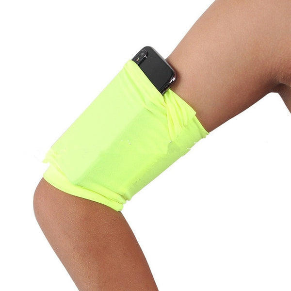 Outdoor Sports Mobilephone Armband Gym Running Fitness Arm Band Holder Case For Cell Phone Armband Breathable Arm Pouch Bag