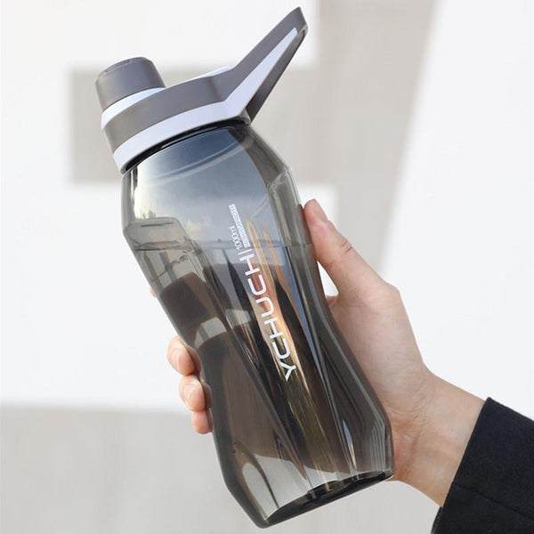 1000ml/1500ml Large Capacity Portable Sports Water Bottles Gym Fitness Sports Shaker Water Drink Bottle Eco-Friendly Waterbottle - Fitness Reinforce