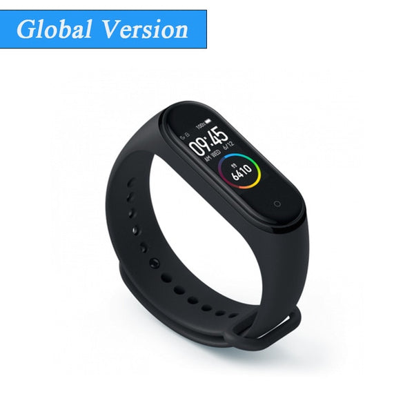 Global Version Xiaomi Mi Band 4 Smart Miband 4 Waterproof Heart Rate Fitness 135mAh Bluetooth 5.0 50M Color Screen Original