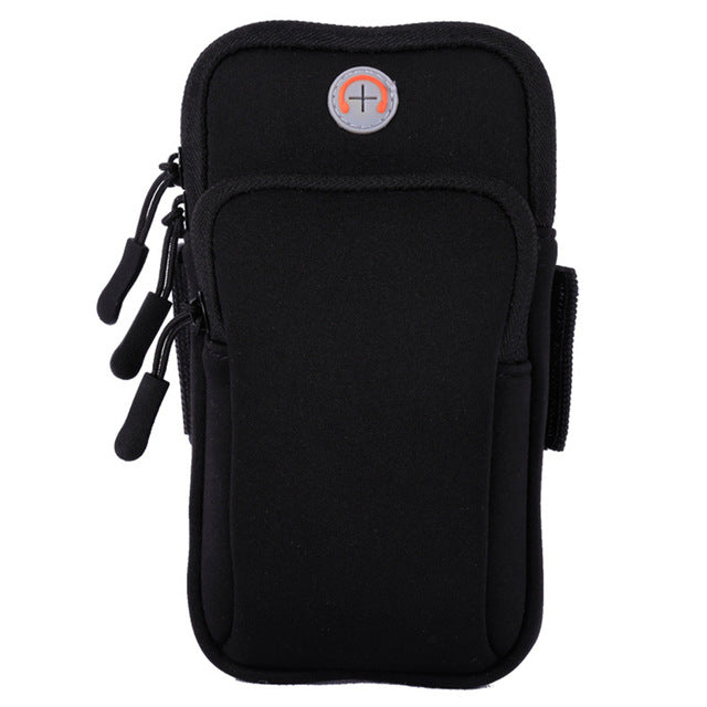 Unisex Running Jogging Fitness Sport Mobile Phone Armband Bag Wrist Pouch Case