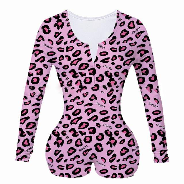 2020 New Women's Lady Sexy Romper Bodycon Casual Jumpsuit Romper Long Sleeve Shorts Leotard Home Wear Tracksuit Playsuit Pajama - Fitness Reinforce