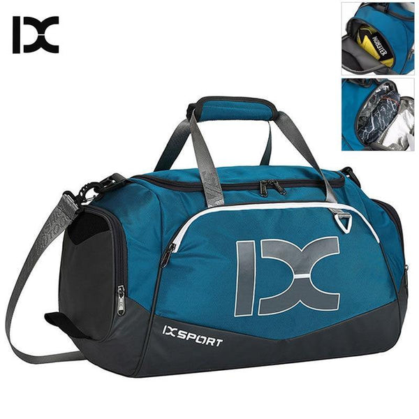 40L Dry Wet Gym Bags For Fitness Travel Shoulder Bag Handbag Waterproof Sports Shoes Women Men Sac De Sport Training Tas XA473WA - Fitness Reinforce