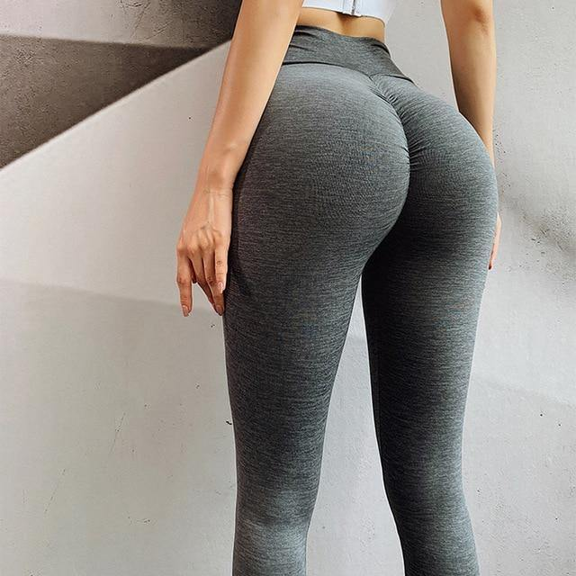 High waist Booty leggings sport Women Fitness yoga pants seamless workout gym leggings stretchy Scrunch butt running legging - Fitness Reinforce