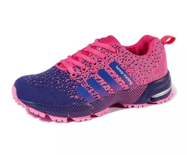 New 2019 Men Running Shoes Breathable Outdoor Sports Shoes Lightweight Sneakers for Women Comfortable Athletic Training Footwear - Fitness Reinforce