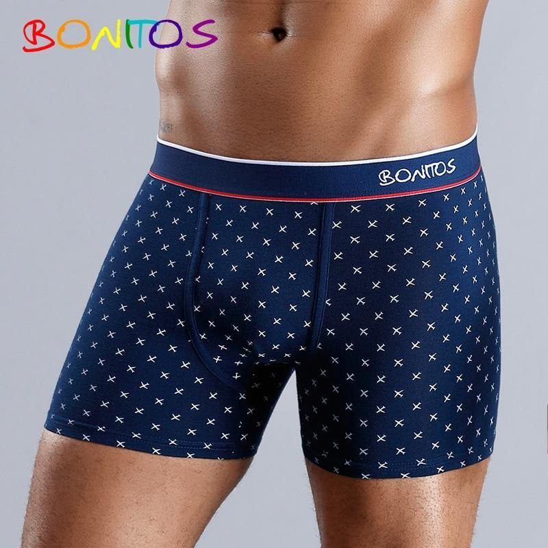Boxer Men Boxer Shorts Men Underwear Male Men's Underwear Boxers Homme Cotton Boxershorts Panties Underpants Man for Family Sexy - Fitness Reinforce