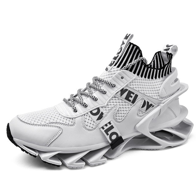 Blade Running Shoes for Men High Quality Breathable Mesh Designer Sneakers Man Jogging Walking Athletics Trainer Sports Shoes