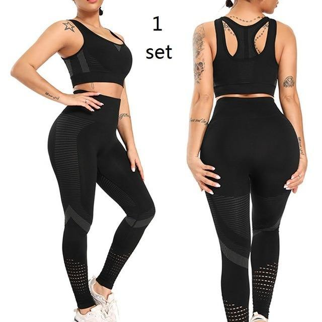 High Waist Seamless Leggings Push Up Leggins Sport Tights Women Fitness Running Yoga Pants Gym Compression Tights Pants - Fitness Reinforce