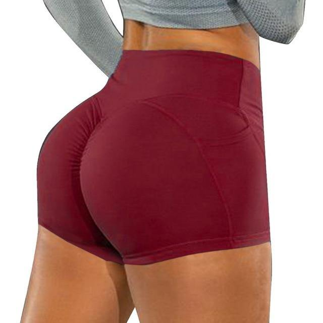 LOOZYKIT Summer Sport Shorts Women High Waist Elasticated Seamless Fitness Leggings Push Up Gym Training Tights Yoga Sport Short - Fitness Reinforce