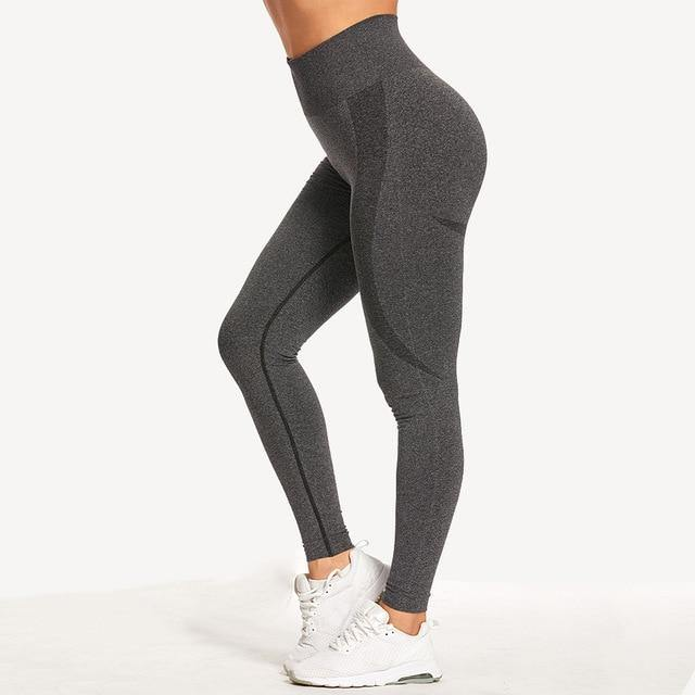 Women Seamless Leggings Tummy Control Yoga Pants High Waist Breathable Leggins Sport Fitness Gym Athletic Tights Drop Shipping - Fitness Reinforce