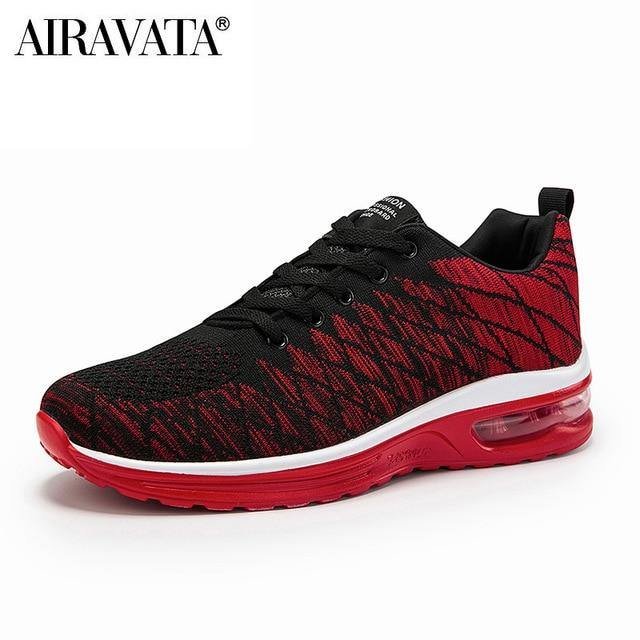 Couple Running Shoes Fashion Breathable Outdoor Male Sports Shoes Lightweight Sneakers Women Comfortable Athletic Footwear - Fitness Reinforce