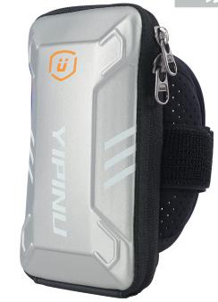 Yipinu Waterproof Fitness Running Bag Wallet Jogging Cell Phone Arms Package Purse Armband Gym Arm Bag Sports Accessories