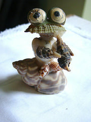 Figurine Grenouille en coquillage