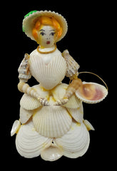 figurine princesse coquillages