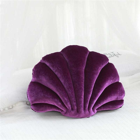 Coussin Coquillage Violet