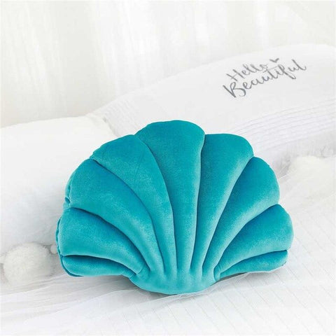 Coussin Coquillage Vert