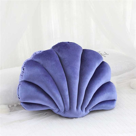 Coussin Coquillage Mauve Claire