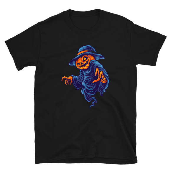 Unisex T-Shirt Pumpkin Head Terror - Positive Impact Shop