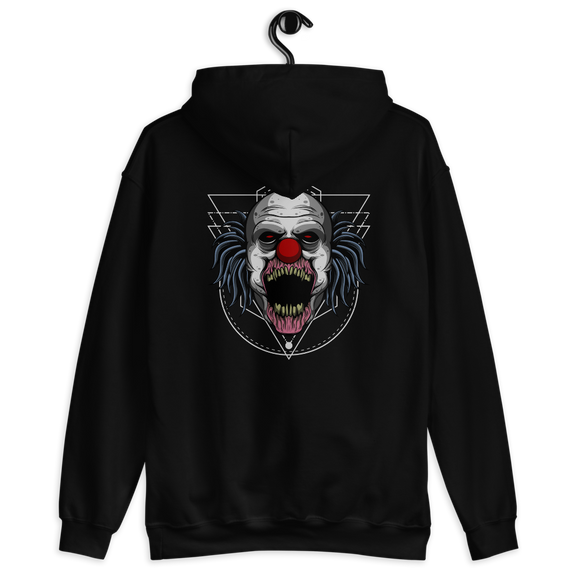 Unisex Hoodie Monster Clown - Positive Impact Shop