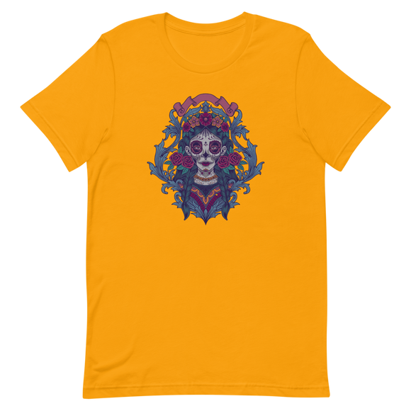 Unisex T-Shirt Mexican Catrina - Positive Impact Shop