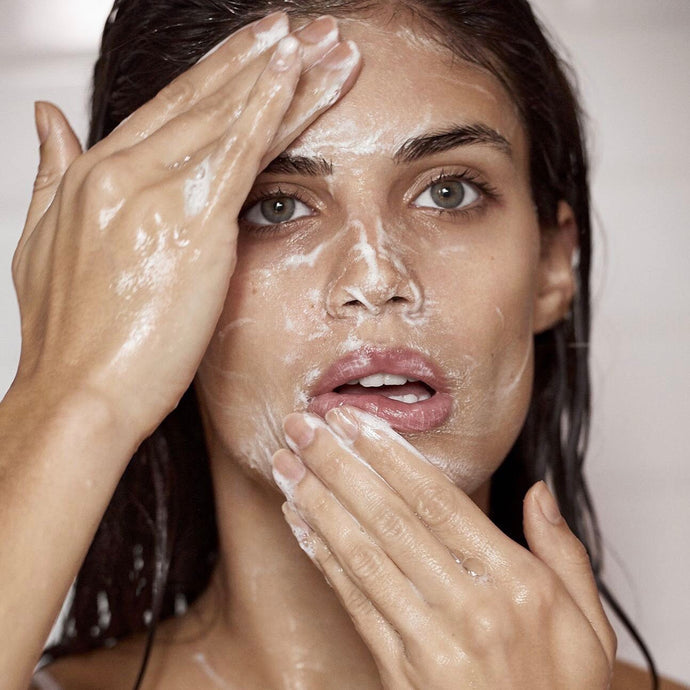 Are you cleansing your skin properly?