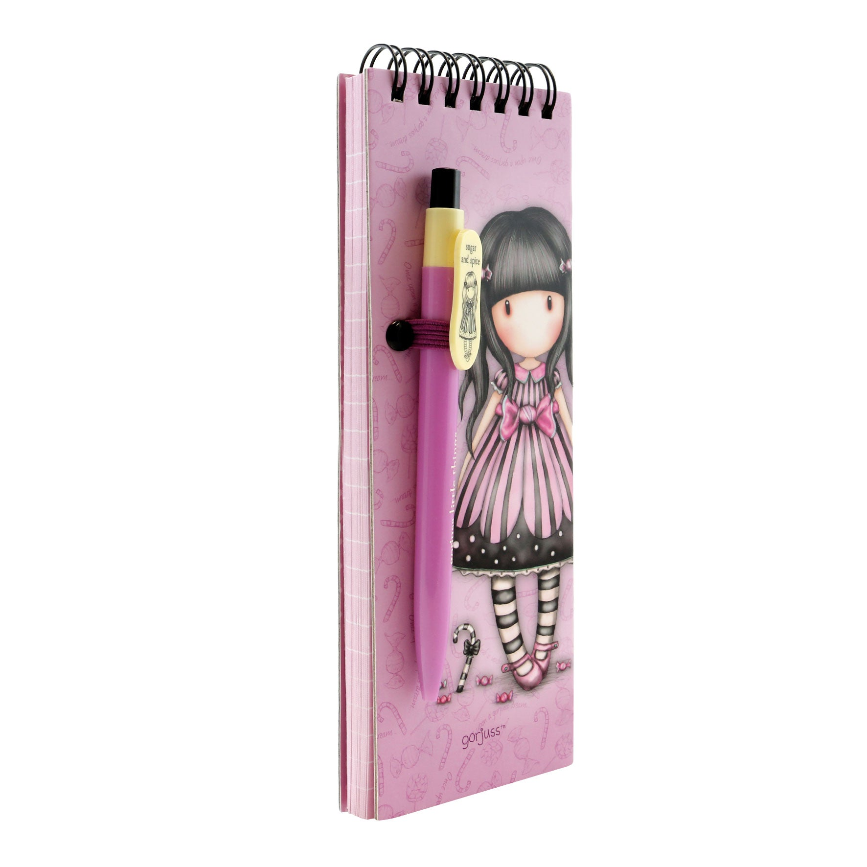 Libreta con pluma sugar and spice