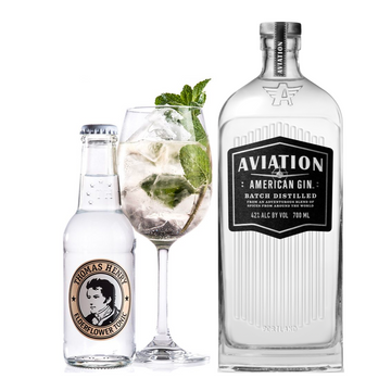 Aviation Gin & Elderflower Tonic Pakke - Collection Spirits