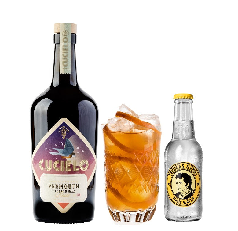 Cucielo Rosso Vermouth & Tonic - Pakke