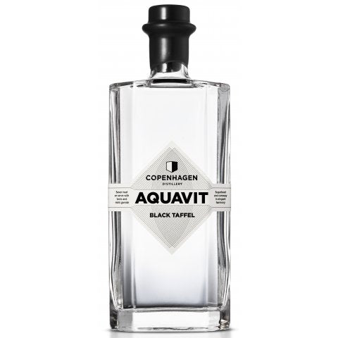 COPENHAGEN DISTILLERY Black Taffel Aquavit - Collection Spirits