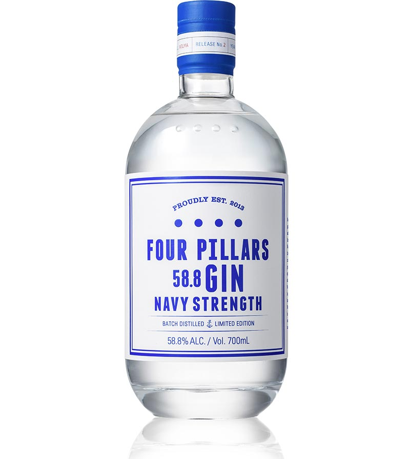 FOUR PILLARS NAVY STRENGTH - Collection Spirits