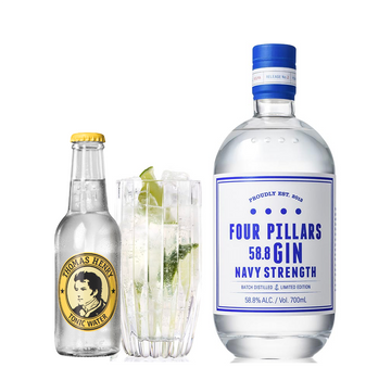 Four Pillars Navy Strength & Tonic pakke - Collection Spirits