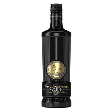 PUERTO DE INDIAS PURE BLACK EDITION GIN - Collection Spirits