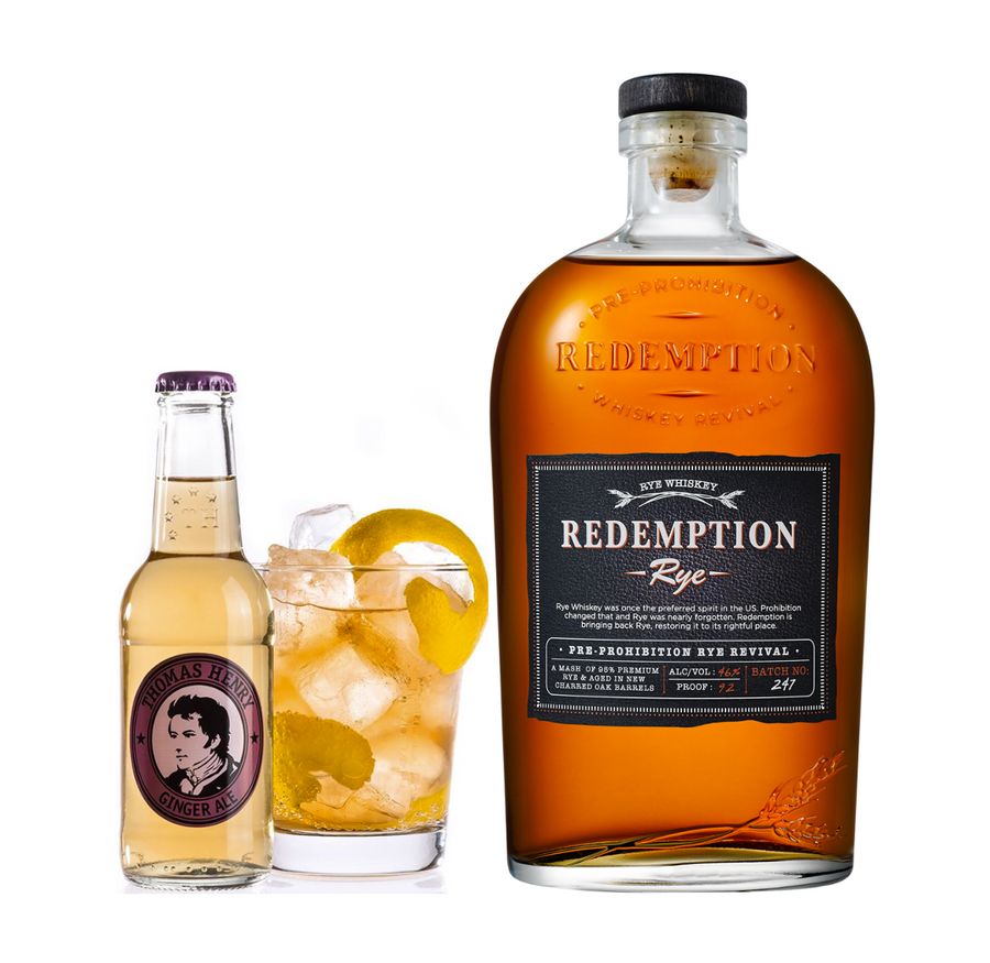 Redemption Rye Pakke - Collection Spirits