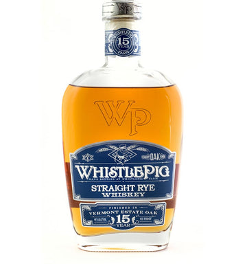 WHISTLE PIG 15YO - VERMONT ESTATE OAK - Collection Spirits