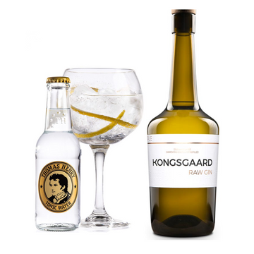 Kongsgaard Raw Gin & Tonic pakke - Collection Spirits