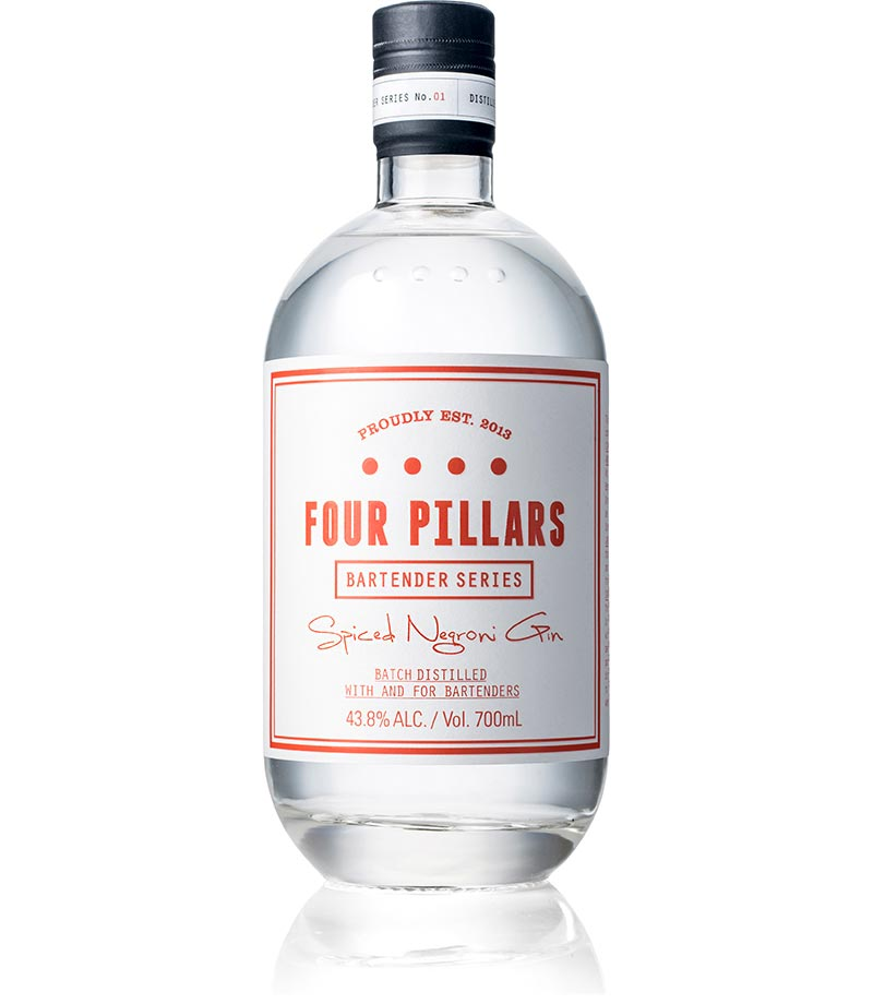 FOUR PILLARS SPICED NEGRONI GIN - Collection Spirits
