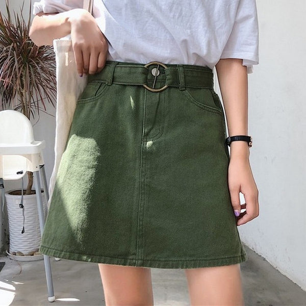 Women's Skirt Summer High Waist Skirts