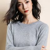 women's round neck sweater