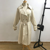Women's Coats Lapel Collar Full Sleeve
