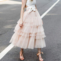 New Fashion Fairy Sweet Cake Skirt