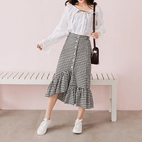 Korean-style Irregular Skirt