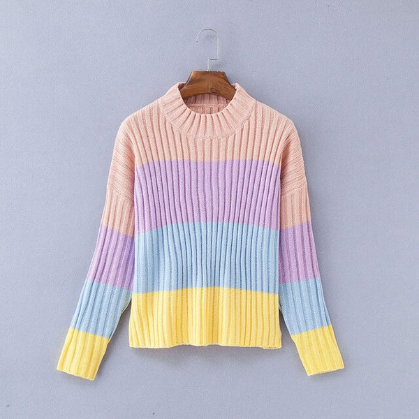 Women's Rainbow Sweaters