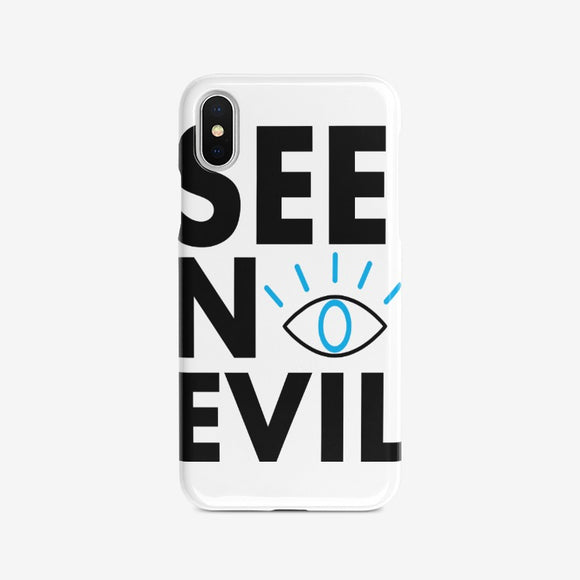 See No Evil iPhone Case - See No Evil