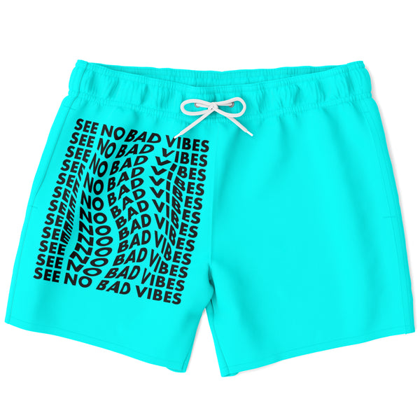 See No Bad Vibes swimming shorts