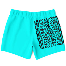 Load image into Gallery viewer, See No Bad Vibes swimming shorts