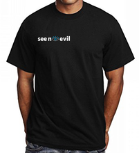 Load image into Gallery viewer, Basic SNE t-shirt is an original see no evil brand product, affordable and can be shipped worldwide