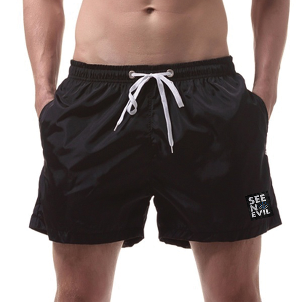 Black Swimming Shorts is an original see no evil brand product, affordable and can be shipped worldwide