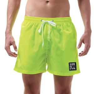 Men's Swimming Shorts - See No Evil