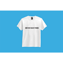 Load image into Gallery viewer, See No Bad Vibes T-shirt